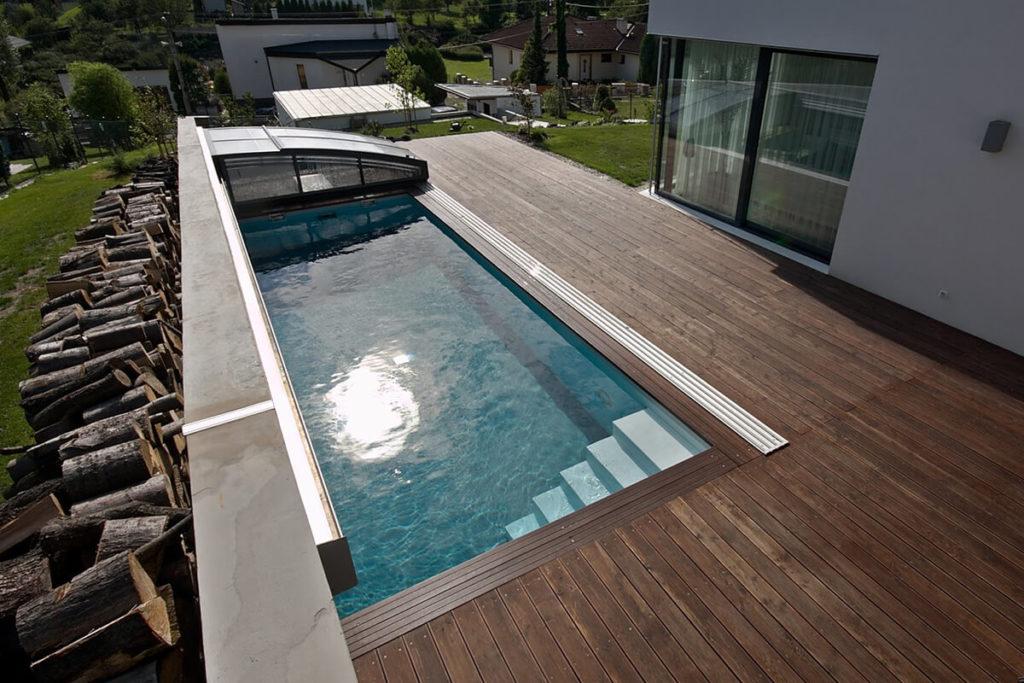 Bílek - reference - bazény