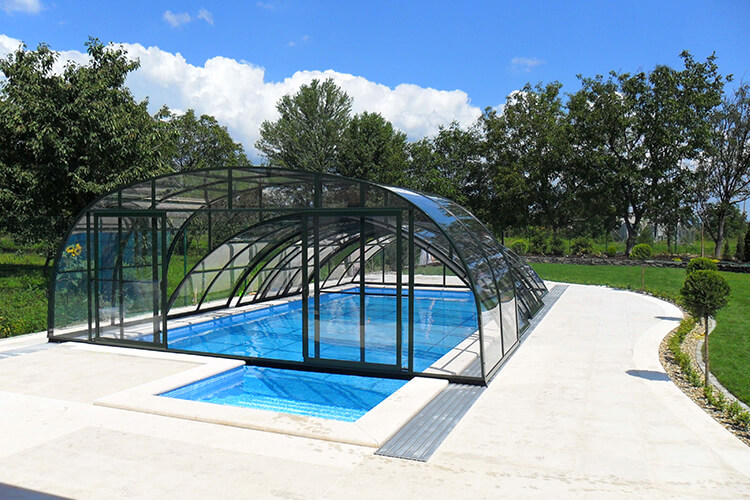 Bazény Bílek - vysoké zastřešení Combi